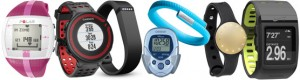 Different activity trackers available