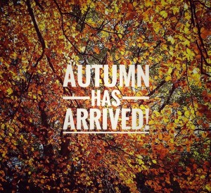 Autumn has arrived