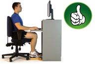Improve the way you sit and work