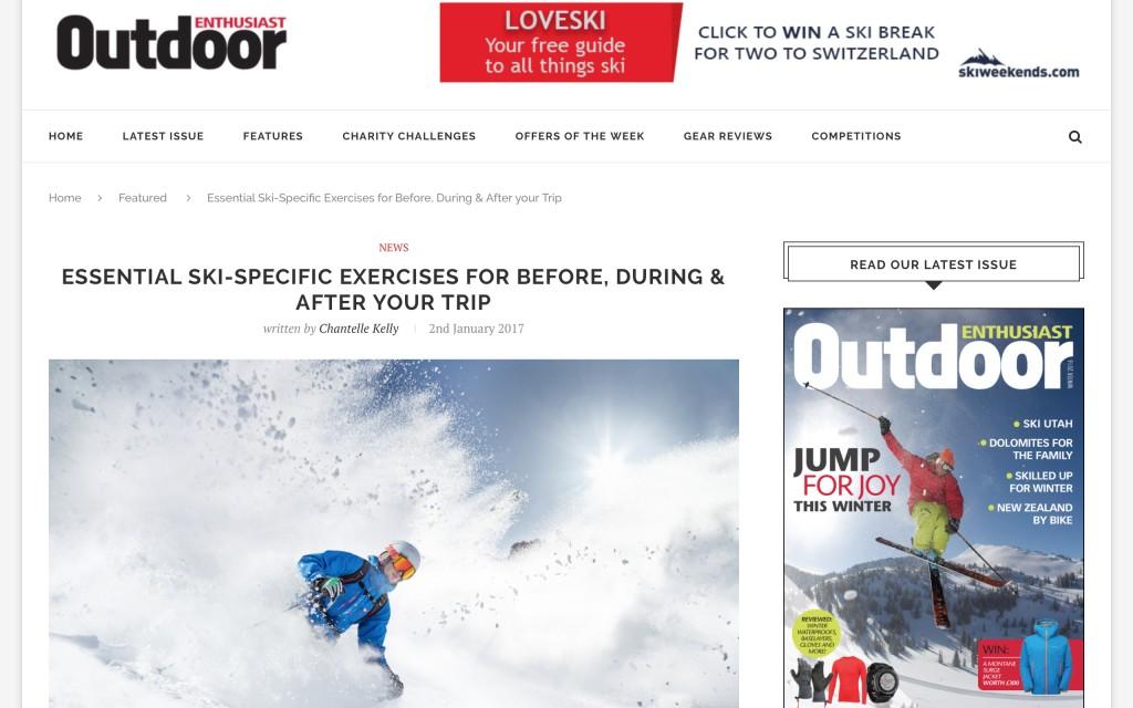 ski specific exercises